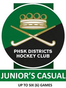 JUNIOR'S CASUAL MEMBERSHIP (Up to six(6) Games)