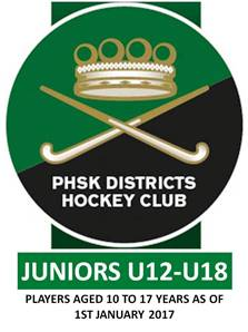 JUNIOR'S U12 to U18 MEMBERSHIP