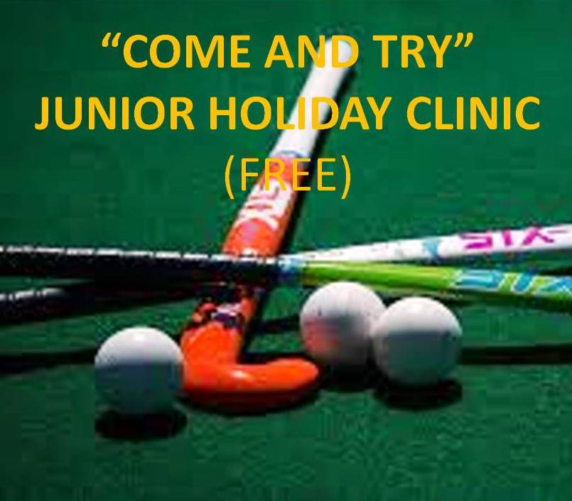 COME & TRY JUNIOR CLINIC (FREE!) TERM 1, 2018