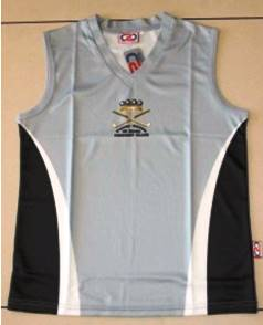Women's Silver Playing Singlet