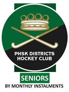 SENIORS 2018 MEMBERSHIP (by 3 x monthly instalments)