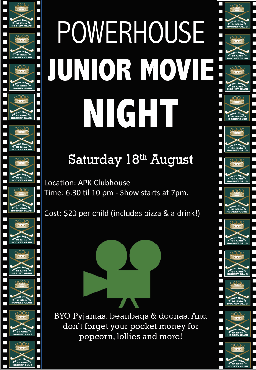 JUNIOR'S MOVIE NIGHT 2018